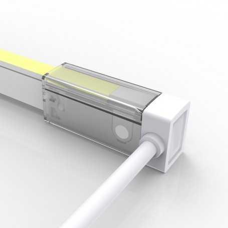 Connecteur LATERAL GAUCHE 02 IP67 pour néon LED flexible SLIM