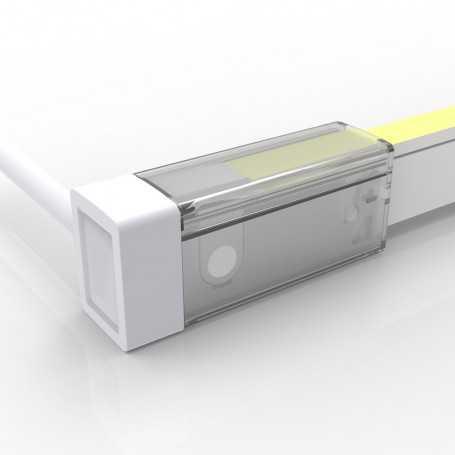Connecteur LATERAL DROIT 01 IP67 pour néon LED flexible SLIM