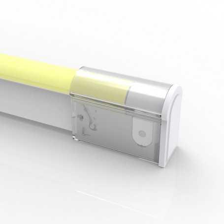 Capsule de TERMINAISON 02 IP67 pour néon LED flexible BULBE