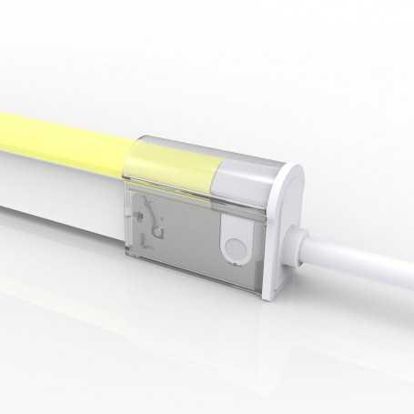 Connecteur DROIT 02 IP67 pour néon LED flexible DOME RGB