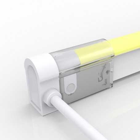 Connecteur LATERAL GAUCHE 01 IP67 pour néon LED flexible DOME RGB
