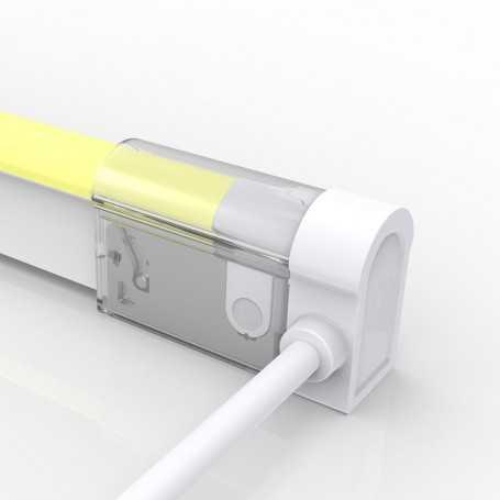 Connecteur LATERAL GAUCHE 02 IP67 pour néon LED flexible DOME RGB
