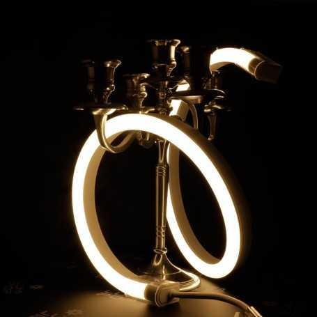 Néon LED BULBE blanc chaud étanche IP67 24V. Qualité premium