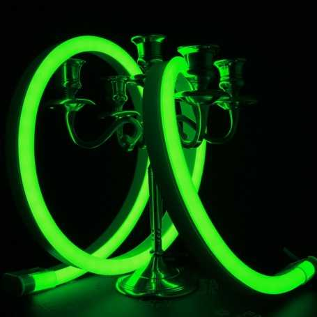 Néon LED BULBE vert étanche IP67 - 24V - 50cm. Qualité premium