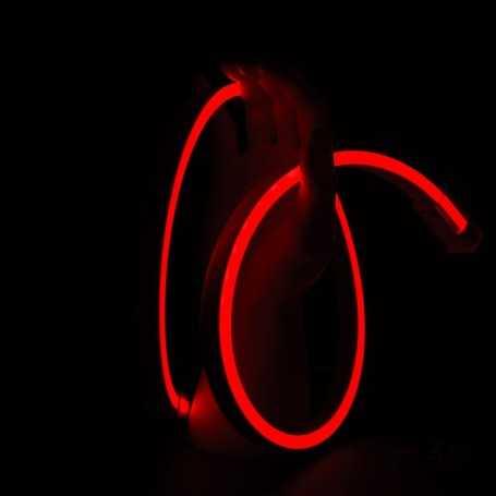 Néon LED SLIM rouge 12V vendu par 50cm. Qualité premium
