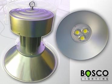 BoscoLighting ajoute des éclairages LED à grande hauteur à sa gamme d'éclairage