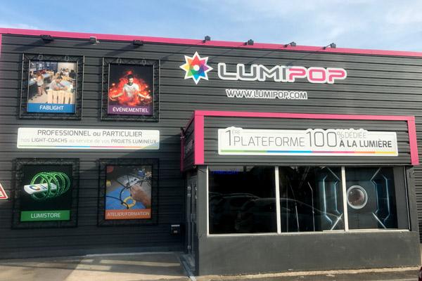 Voici notre boutique LumiPop dans le Loiret