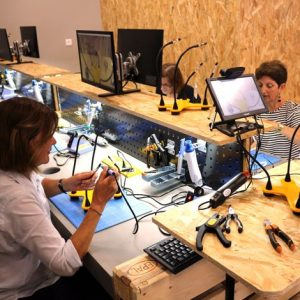 Un atelier de création de lampe LumiPop