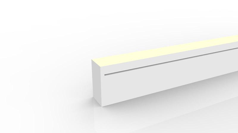 Capsule de terminaison moulée IP67 pour néon LED SLIM