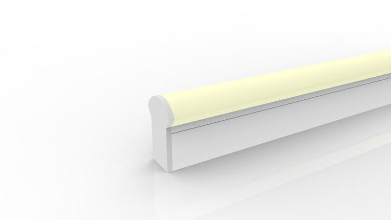 Capsule de terminaison moulée IP67 pour néon LED BULBE et DOME RGB
