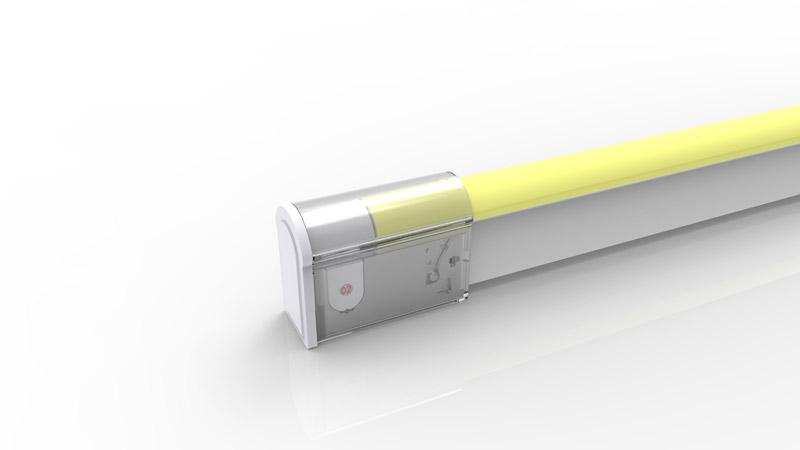 Capsule de terminaison pour néon LED BULBE de la gamme PREMIUM de LumiPop