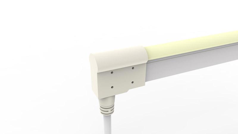 Connecteur arrière moulé IP68 pour néon LED BULBE et DOME