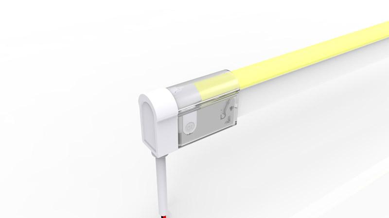 Connecteur arrière pour néon LED BULBE de la gamme PREMIUM de LumiPop