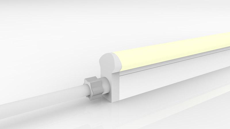 Connecteur droit moulé IP67 pour néon LED BULBE et DOME RGB