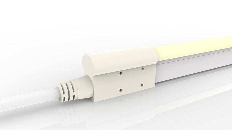 Connecteur droit moulé IP68 pour néon LED BULBE et DOME